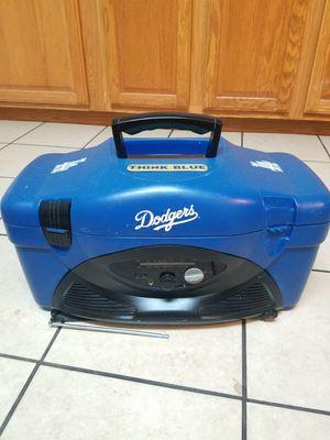 Dodgers cooler radio. for Sale in La Puente, CA