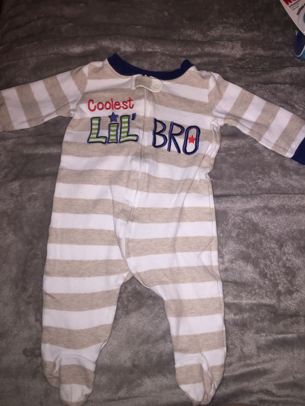 Little Brother Onesies and Sleepers