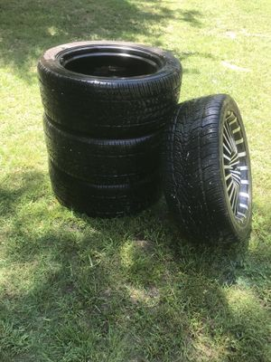 "22"" tires & rims for Sale in Fort Coffee, OK"
