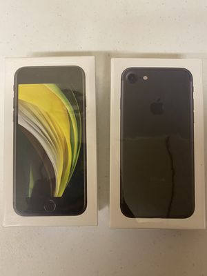 Brand new sealed iphone 7 and iphone SE for Sale in Baton Rouge, LA