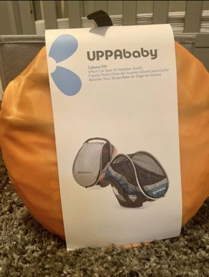 *NEVER OPENED* UPPAbaby Infant Car Seat ALL WEATHER COVER for Sale in Scottsdale, AZ
