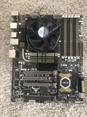 Asus X58 Sabertooth with First Gen. i-7 and I/O Shield for Sale in Houston, TX