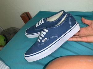 Blue Vans Size 8.5 for Sale in Fort Myers, FL