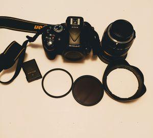 Nikon D5200 24.1 MP DSLR Camera. & Len for Sale in Smithfield, NC