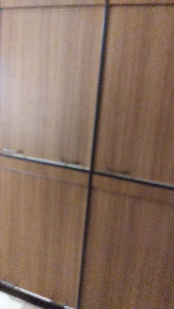 Double sided shelf/cabinet