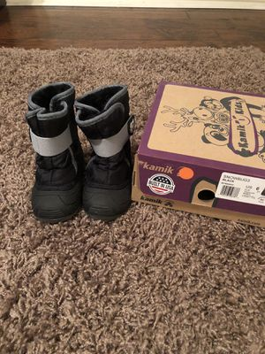 Toddler snow boots! Waterproof for Sale in Sachse, TX
