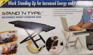 Stand and Type (Adjustable Study/Work Desk) for Sale in Fremont, CA