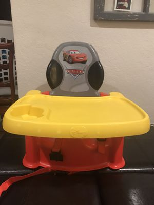 Disney Cars Booster Seat with Tray for Sale in Concord, CA
