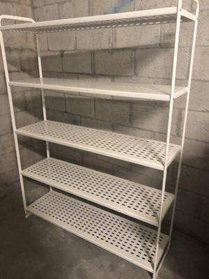 White Metal Shelving for Sale in North Miami Beach, FL