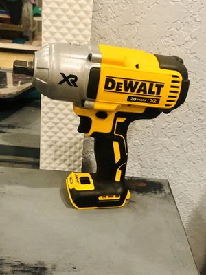 20-Volt Max XR Lithium-Ion 1/2 in. Cordless Impact Wrench Kit with Detent Pin Anvil (Tool-Only)🚨$150 FIRM!!!! for Sale in Azusa, CA