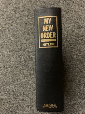 My New World Order (Adolf Hitler) for Sale in Raleigh, NC