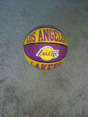 Los Angeles Lakers basketball for Sale in Fort Belvoir, VA
