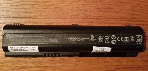 Genuine HP EV06 Notebook Battery (#462890-142)