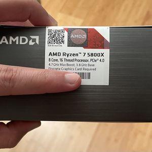 AMD RYZEN 5800X Brand New for Sale in Chicago, IL