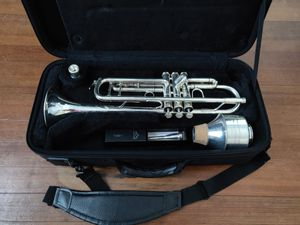 Andreas Eastman silver-plated trumpet for Sale in Hartford, CT