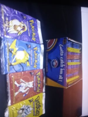 Pokemon unopened booster packs 36 total for Sale in Eatonville, WA