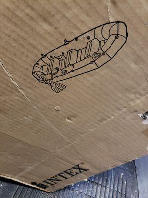 Intex inflatable boat for Sale in Atlantic City, NJ