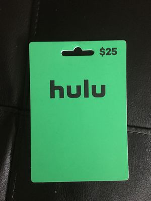 25$ hulu dollar card for Sale in Los Angeles, CA