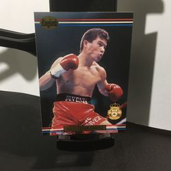 JULIO CESAR CHAVEZ 1991 Ringlords Boxing #31 for Sale in Bellwood,  IL