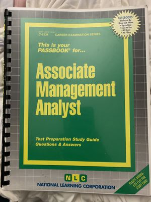 Associate Management Analyst (Passbooks) for Sale in Milpitas, CA