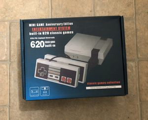 Nes classic mini games retro console for Sale in Newcastle, WA