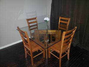 Glass Kitchen Table for Sale in Castro Valley, CA