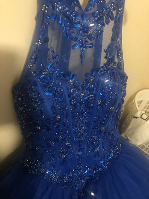 Quinceanera Dress (Royal Blue) for Sale in Dallas, TX