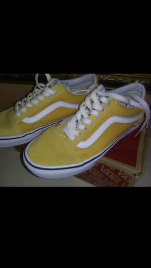Yellow Old Skool Vans for Sale in Cypress Gardens, FL
