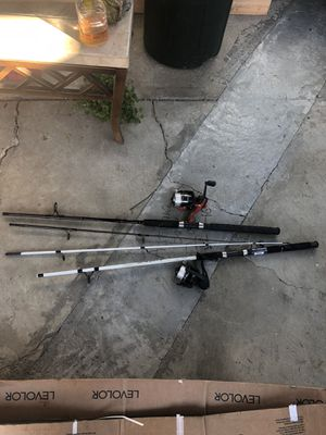 2 fishing poles for Sale in Hayward, CA