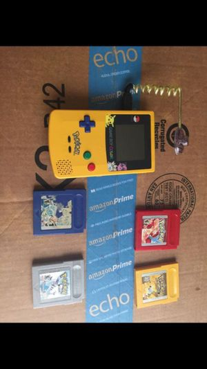 Gameboy with games for Sale in Houston, TX