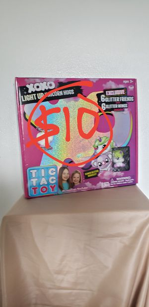 Tic Tac Toy LOL Surprise Light Up Unicorn stuffed animal toy. BRAND NEW INCLUDES: 1 XOXO Light Up Unicorn plushie for Sale in Ventura, CA