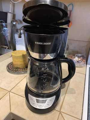 Black & Decker Coffee Maker for Sale in Colorado Springs, CO