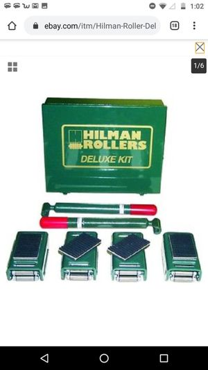 Hillman Rollers 8 Ton Swivel for Sale in Seattle, WA
