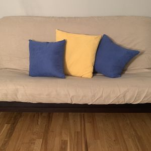 Futon With Wood Frame for Sale in Jersey City, NJ