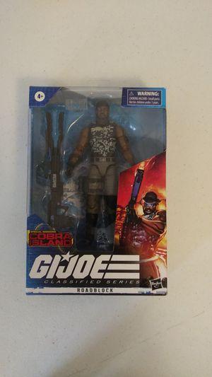 Gi joe classified series special mission cobra island roadblock action figure for Sale in Healdsburg, CA