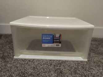 Plastic Stacking Drawer - Large for Sale in Port Orchard,  WA