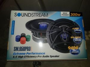 soundstream 6.5 pro audio speaker for Sale in Fort Worth, TX