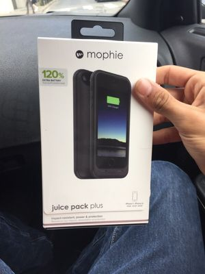Black morphia case for iPhone 5, 5s 120% battery for Sale in San Francisco, CA