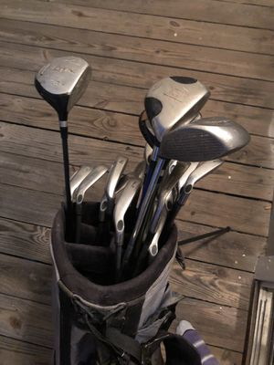 Golf clubs with standing bad for Sale in Raleigh, NC