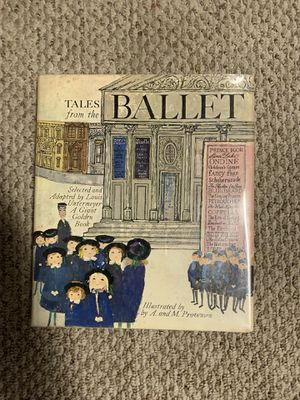 TALES FROM THE BALLET LOUIS UNTERMEYER ILLUS. PROVENSEN FIRST 1st 1968 NEAR MINT for Sale in Providence, RI