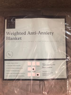Weighted blanket ( anti anxiety ) for Sale in Ansonia, CT
