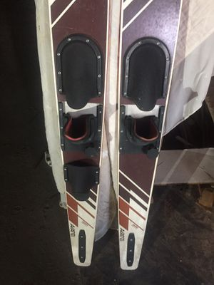Epoxy water skis for Sale in Danville, PA