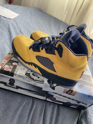 Jordan 5 Michigan's for Sale in Nipomo, CA