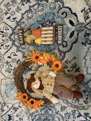 Fall decorations for Sale in Fort Belvoir, VA