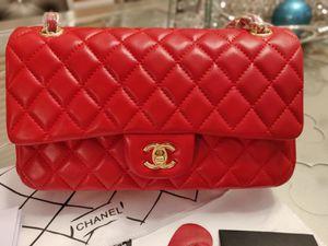 Chanel Double Flap Red Classic Shoulder Bag for Sale in Phoenix, AZ