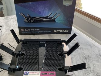 Netgear Nighthawk X6S AC3000 Model R7900P Router for Sale in Minneapolis,  MN