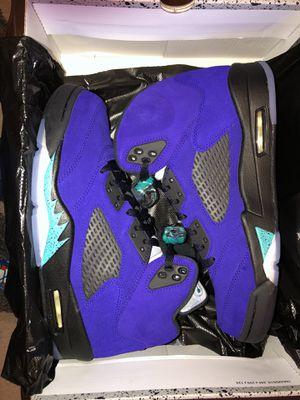 Jordan 5 Retro Grape for Sale in Austin, TX