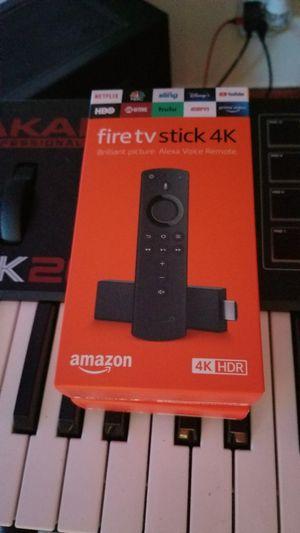 Amazon Fire Stick 4k for Sale in Cambridge, MA