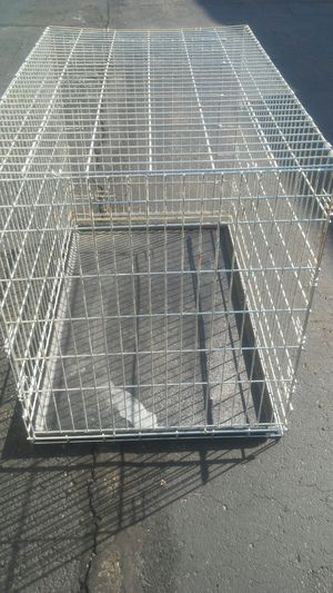 XXL DOG CAGE/CRATE IDEAL FOR LARGE AND EXTRA LARGE DOGS COMMERCIAL GRADE HEAVY-DUTY STRONG STURDY RELIABLE SAFE AND READY TO USE DELIVERY IS POSSIBLE for Sale in Philadelphia, PA