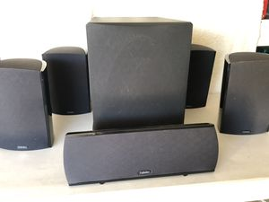 Definitive Technology ProMonitor 1000 Surround Speakers and ProSub 1000 Subwoofer for Sale in Yorba Linda, CA